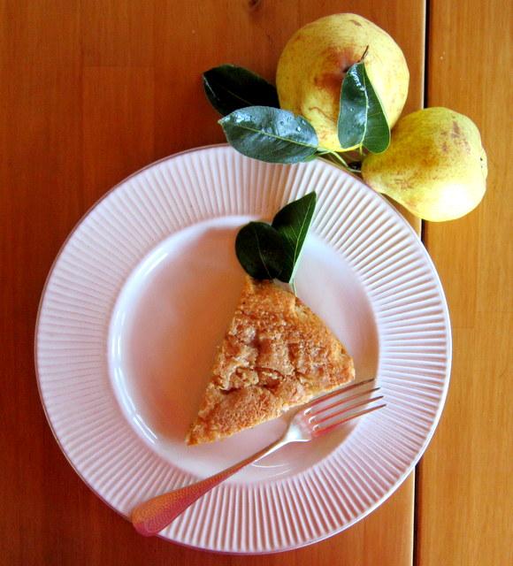 Torta di pere e cocco super, super facile!