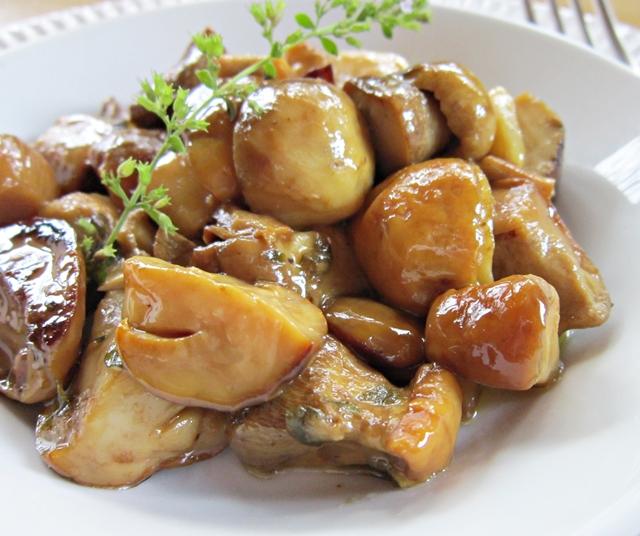 Funghi porcini alla nepitella