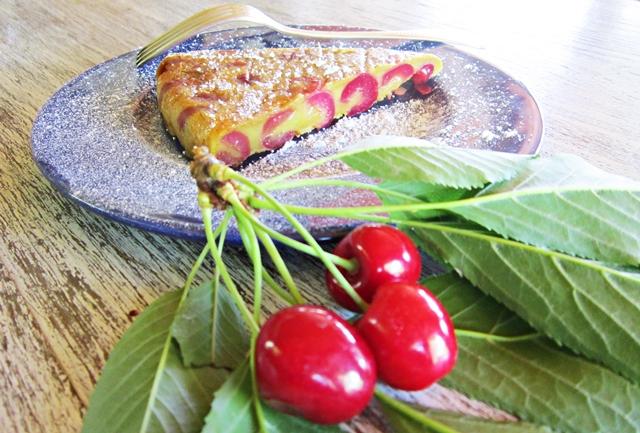Clafoutis di ciliegie, senza glutine e vegan. Dalla Francia con sapore.
