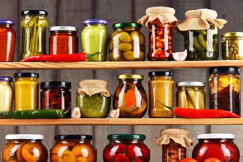 Conservazione degli alimenti in casa