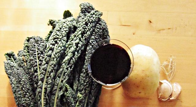 Cavolo nero. Patate farcite di cavolo nero. Ancora un finger food!