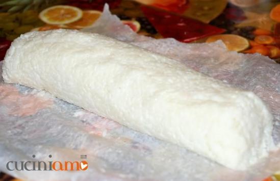 Rotolo di riso ripieno di prosciutto e formaggio edamer - precottura