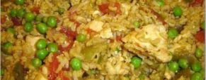 ricetta caraibica: Arroz con pollo