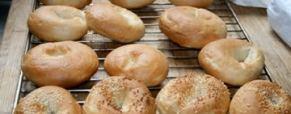 Per le americanofile: bagels!!!! [con foto]