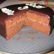 la mia prima torta con glassa lucida…( con foto)
