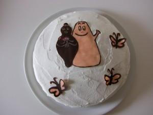 Torta Barbapapˆ, 1 compleanno Marta