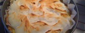 Crostata meringata con la crema al limone (foto)