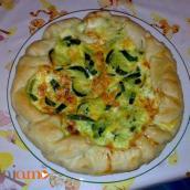 Torta salata zucchine e certosa