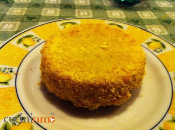 Tortino patate sgombro e polenta