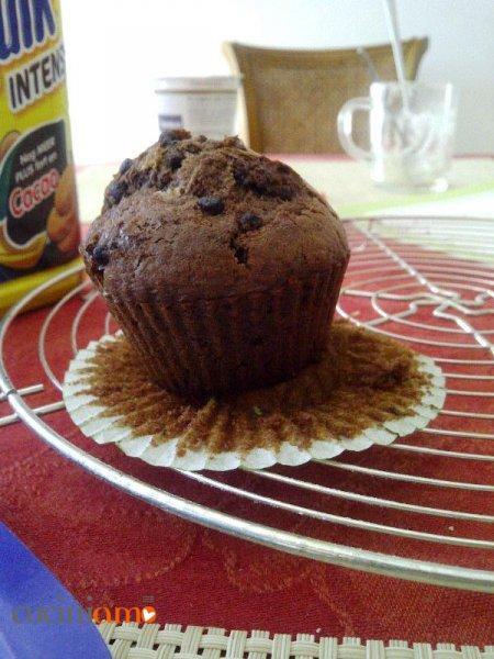 Golosissimi muffin doppio cioccolato