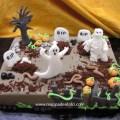 Torta Halloween fantasmi