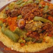Sempre in tema etnico: pranzo marocchino