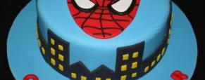 Torta Supereroi (foto particolari decorazioni)