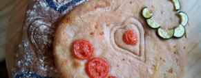 Pane di segale e manitoba per Cuciniamo