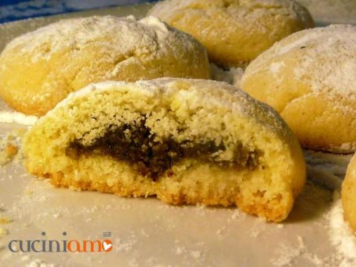 Biscotti maamoul di semolino