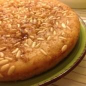 Torta semplice senza glutine