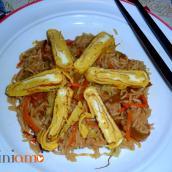 Riso orientale alle verdure