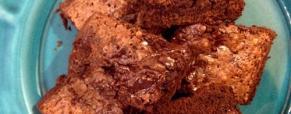 Brownies doppio cioccolato di Moorea
