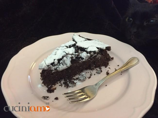Torta super cioccolatosa vegana gluten free