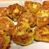 Polpette di pesce e patate (Fish cakes)