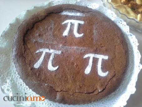 Torta Pi Greco al cioccolato con cuore morbido