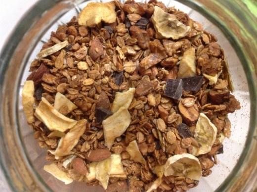 Granola ricetta vegan