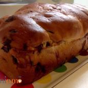 Pan brioche al cioccolato