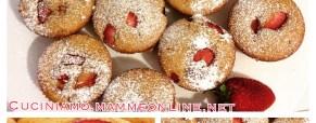 Muffin alle fragole, sofficissimi e buonissimi
