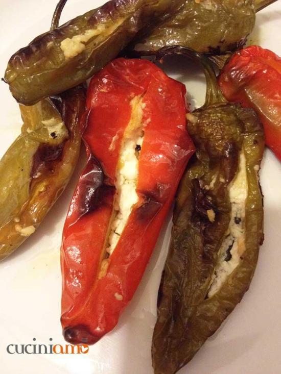 Friarielli al forno con feta greca