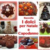 Raccolta di dolci per Natale e Capodanno