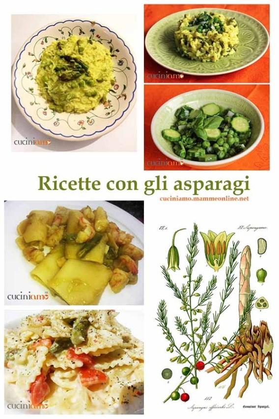 Ricette con gli asparagi - raccolta
