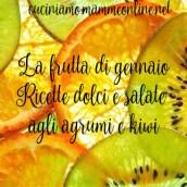 Ricette con frutta di stagione – gennaio