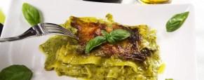 Per il pranzo di Natale una deliziosa variante delle lasagne al pesto