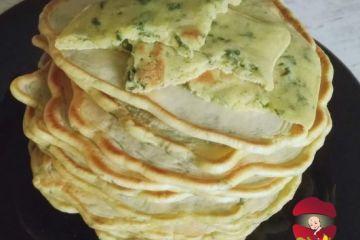 pancakes cu spanac