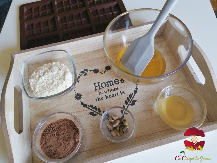 ingrediente ciocolata homemade