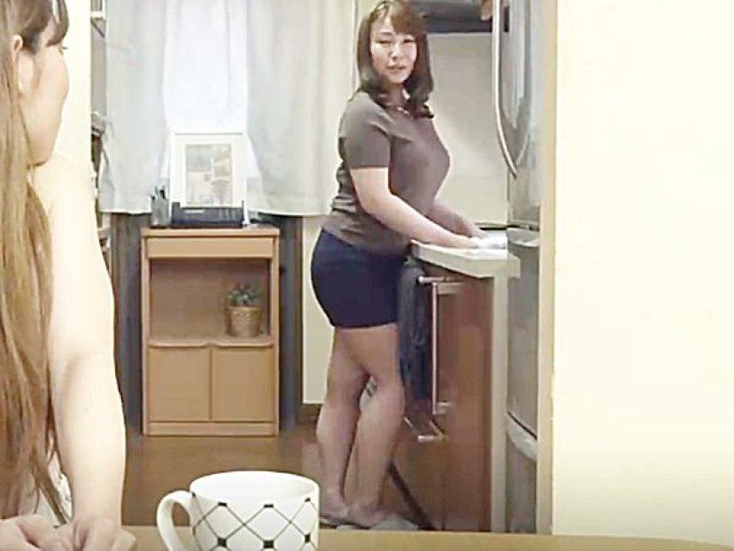 ◆彼女の母・エロドラマ|影井美和◆『寝室は別々ね..』娘から自宅に遊びに来た彼氏の宿泊を懇願される豊満熟女ママですが..