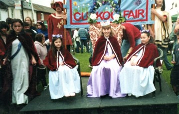 Princess at the Maypole in 2005