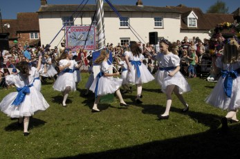 New Forest School Of Dance at the Maypole in 2018