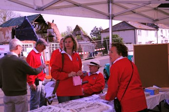 Cuckoo Fair Team at the Fair in 2011