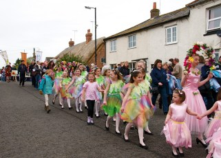 New Forest School Of Dance at the Maypole in 2012