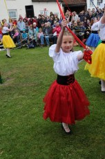 New Forest School Of Dance at the Maypole in 2013