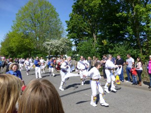 Sarum Morris at the Procession in 2014