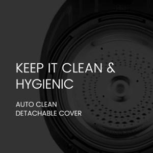 Auto Clean Detachable Cover