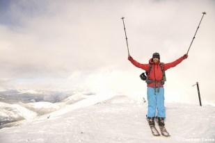 On top of Empire Peak; our last summit.