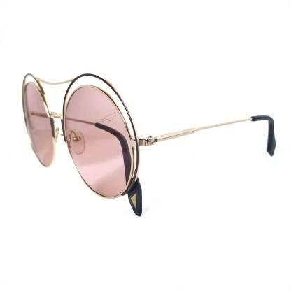 Óculos de sol feminino redondo 27408 C4