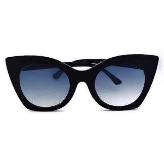 Óculos de sol gatinho Paris Marinho