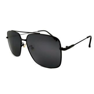 Óculos de Sol Aviador Quadrado Polarizado CF28044 Preto