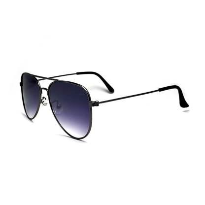 Óculos de sol aviador moscou degradê preto