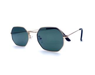 Óculos de Sol Octagonal Sensação Dourado G15