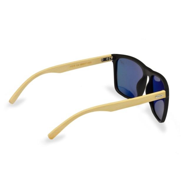 Óculos de Sol Espelhado Laranja Macau
